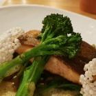 Foto zu Culinaria: Eismeerlachs, Curry, Muscheln, Brokkoli