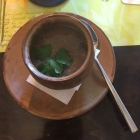 Foto zu St. Benno Keller   Winzerrestaurant & Hofgarten: meine Linsenvorsuppe