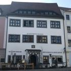 Foto zu St. Benno Keller   Winzerrestaurant & Hofgarten: frontale Außenansicht