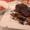 Goldener Hirsch - Rumpsteak vom Argentinischen Black Angus Rind mit Pfifferlingen