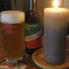 Pils - Glas und Flasche