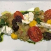 Gambero Rosso Tatar | Mazzara Garnele | Avocado | Burrata | Kirschtomate | Basilikum