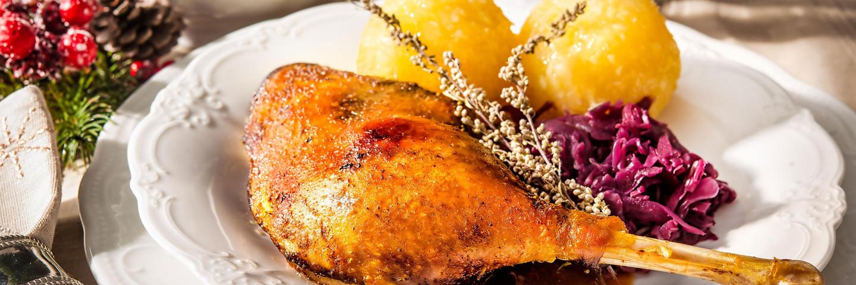 Martinsgans-Essen im Stadtgespräch