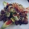 Salat Kalbsleberstreifen