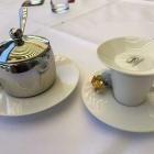 Foto zu Restaurant WIDU im Parkhotel Wittekindshof: Espresso abgedeckt