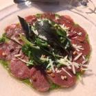 Foto zu Restaurant Heidehof: 2.9.18 / Vorspeise klassisches Carpaccio