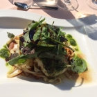 Foto zu Restaurant Heidehof: 2.9.18 / Seeteufel mit Pasta