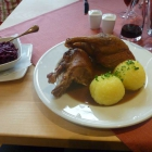 Foto zu Manchinger Hof: halbe Ente