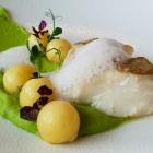Foto zu High Kitchen: Kabeljau Erbse Kartoffel