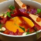 Foto zu High Kitchen: Tatar mit Süd von der gelben Tomate