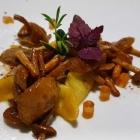 Foto zu High Kitchen: Gänseleber-Raviolo, Wildpilze als Einlage