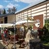 Der Hofladen mit Außenterrasse