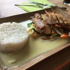 Foto zu Pho Viet thailändische & vietnamesische Küche: 14.7.19 / Ente mit grünem Curry