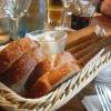 Küchengruß (Brot mit Schmalz)