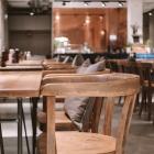 Foto zu Mangfallblau · Fabrikrestaurant: Gastraum Mangfallblau
