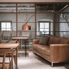 Foto zu Mangfallblau · Fabrikrestaurant: Loungebereich Mangfallblau