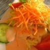 Unaufgeregte Salatdeko