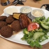 Falafel-Teller Spezial vom Kollegen
