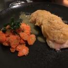 Foto zu Echtzeit: 29.1.20 gratinierter Lachs unter Kartoffelschuppen