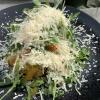 Bruschetta Paprika, Rucola, Parmesan