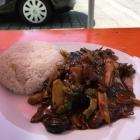 Foto zu Asia Imbiss: Rindfleisch mit Tong Ku Pilzen