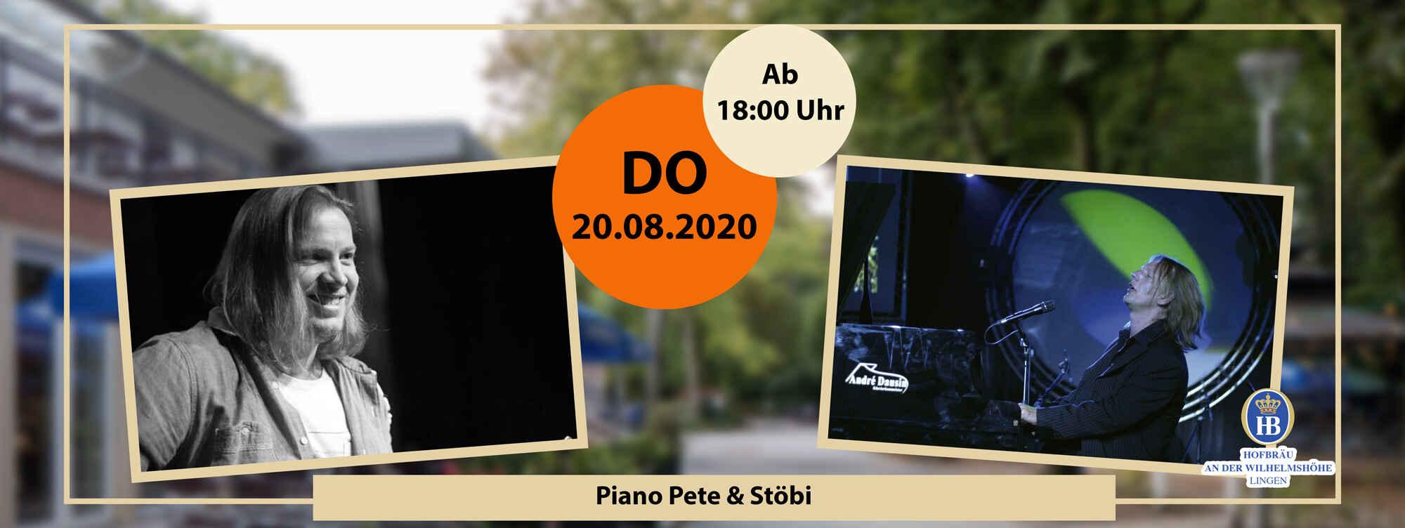 Piano Pete & Stöbi