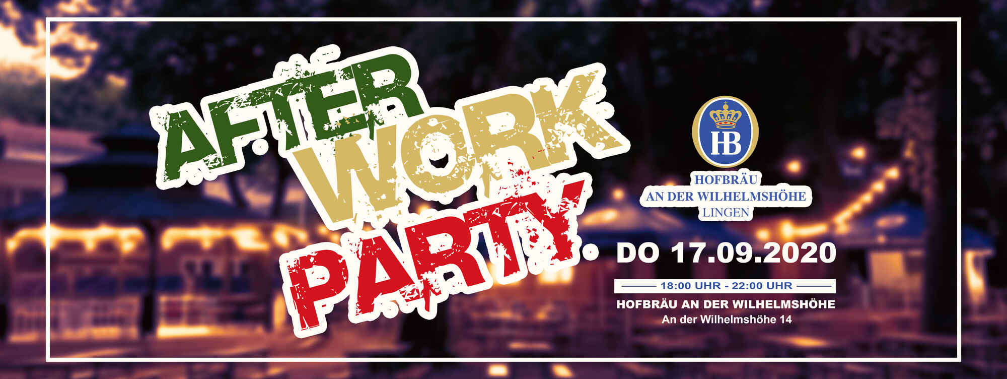 After Work • 17.09.2020