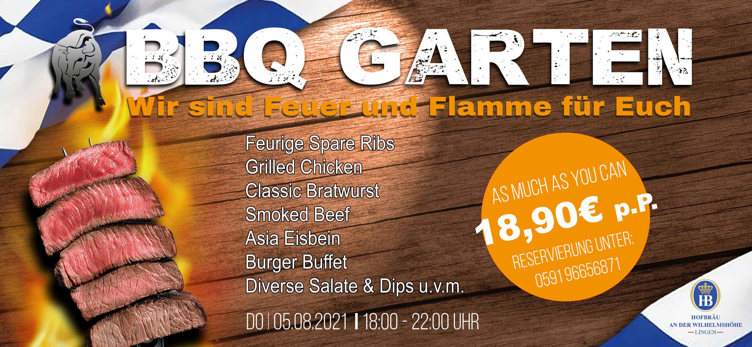 BBQ Garten