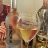 Wasser und Champagner