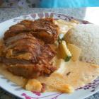 Foto zu Asia Küche Bistro-Imbiss Linh: Knusprige Ente Thailändisch