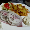 Matjesteller mit Bratkartoffeln