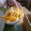 Pommes Frites zum Schnitzel