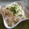 Reis zur Hähnchenbrust