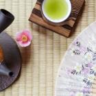 Foto zu Teehaus im Japanischen Bonsaigarten: green Tea