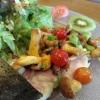Salat mit Eußerthaler Forelle