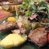 Salat mit Roastbeefstreifen