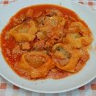 Foto zu La Bottega Franjoy: Torteloni mit Tomatensugo