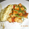 Büffelkäse mit Tomaten-Brotsalat