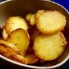 Bratkartoffeln, am Rande gebräunt