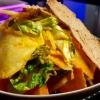Blattsalate mit Karotten-Ingwer-Dressing