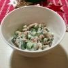 Nordseekrabben-Gurken-Salat a la NoTeaForMe. ;)