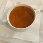 Foto zu Olympos: Suppe zum Tagesmenü, Grichische Nudeln mit Fleischeinlage