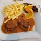Foto zu Olympos: Schweinefilet mit Pfefferrahmsoße (Tagesgericht)