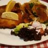 Münchner Schnitzel mit Meerrettich gefüllt