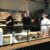 Die Pizzaioli vor ihrem Superbackofen aus Neapel