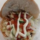 Foto zu By Jemys Döner & Pizza Haus: Double Burger XXL mit Tomaten, grüner Salat, Gurken, Zwiebeln, Ketchup, Mayo