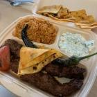 Foto zu Harbali Holzkohlegrill Schüttorf: 11.05.21 Adana Kebab mit Bulgur take away
