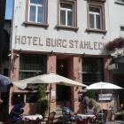 Foto zu Café im Hotel Burg Stahleck: