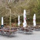 Foto zu Paddelweiher-Hütte: Früh am Morgen im April: Ruhe