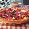 Pizza Salame con capperi